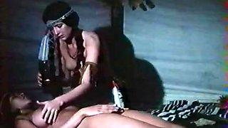 Crazy facial classic video with Aldo Ray and Jon Hollabaugh