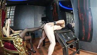 Italian Mistress Heel ass insertion