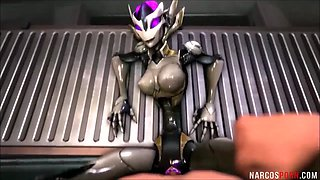 Hot big tits and ass game heroes get fucked deeply