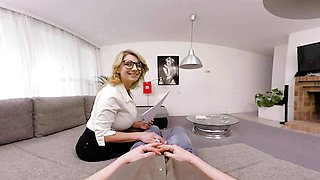 Busty Teacher Katerina Hartlova Seduces Student