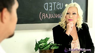 Nasty mature teacher fucked