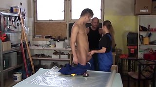 Best pornstar in horny college, threesomes sex video