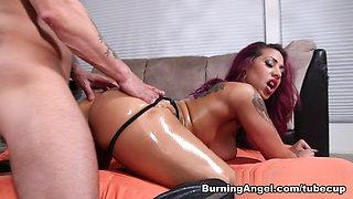 Amazing pornstars Joanna Angel, Veronica Rose in Best Hardcore, Anal sex movie