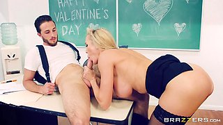 First MILF in his life that he fucked was a teacher Brandi Love