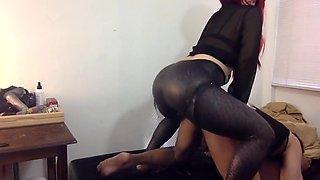 Fabulous Anal, Strapon sex scene