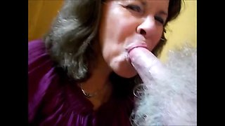 Reload combined granny swallows cum