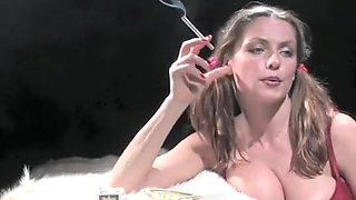 Fabulous homemade Smoking, Fetish adult clip