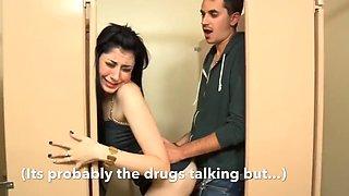 Random side effects: a sissy caption story