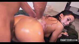 A Must See Oiled Up DP Anal For MR