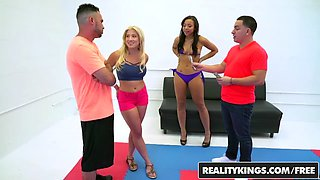 RealityKings - Money Talks - Adrian Maya Amy Pa - Oil Wrestling