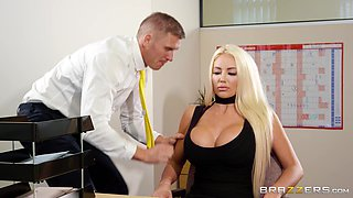 Hiring secretary Nicolette Shea should be his top priority!