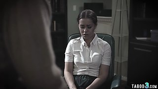 Troubled latina teen fucked by the school counselor