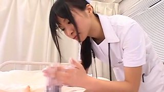 Hottest Japanese chick Eri Nanahara in Exotic Handjobs JAV movie