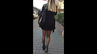 Turkish shiny pantyhose 4