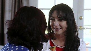 DaughterSwap - Two Hot Moms Share Their Bi Daughters