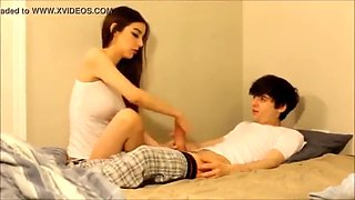 Young cute girl got fucked with his brother