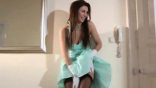 British glamour milf fucks stranger to climax