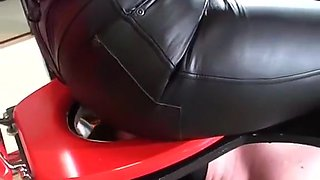 Toilet leather hiney
