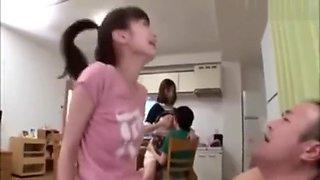 Japanese family fuck
