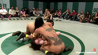 Battle Of The Featherweights: Round 2 The Only Non-Scripted Tag Team Wrestling In The World - Publicdisgrace