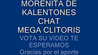 Morenita De Kalentones Chat Su Mega Clitoris