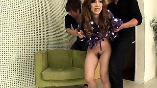 Sex with Rino Sakuragi in amazing Asian bondage