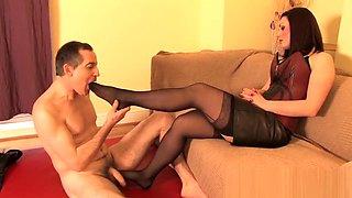 Heelena's Foot Slave