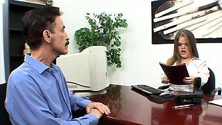 Mustache Guy Bangs  a Midget Assistant