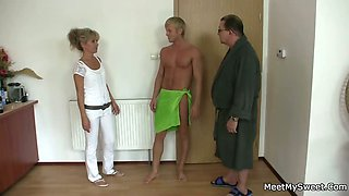 His parents tricks her into sex