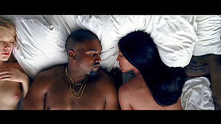 Naked celebs (fake) and rapping