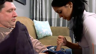 Teen Daughter Shows Daddy She Likes Boys (Modern Taboo Family)