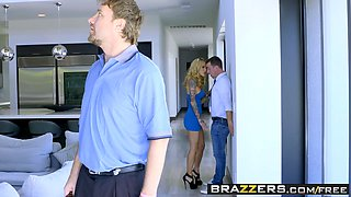 Brazzers - Real Wife Stories - Bringing Down The House scene starring Sarah Jessie and Jessy Jones