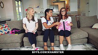 BFFS - Naughty Teen Tutors Seduce Student