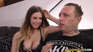 Anal Slut Stella Cox Fucks Big Black Dick - Cuckold Sessions