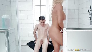 Rebecca Jane Smyth bent over and drilled doggystyle