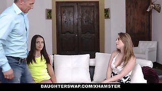 daughterswap - hot daughter fuck dad for the money