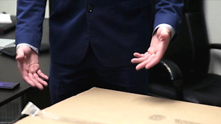 Teen bride ass fucked at the office