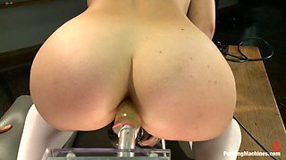 Fucking Machines Penetrate Remy Lacroix's Holes
