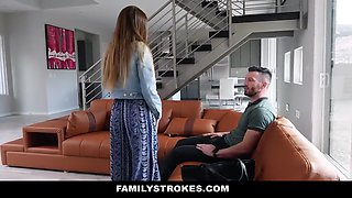 Familystrokes - innocent teen gets filled with uncles cock