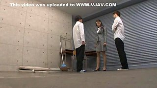 Amazing amateur Threesomes, Secretary adult movie
