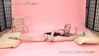 Flexible girl