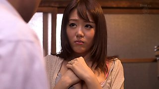 Seduction and a hot fuck with a cute Japanese girl