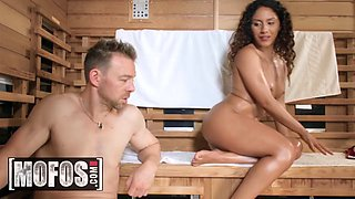 Liv revamped sauna seduction mofos