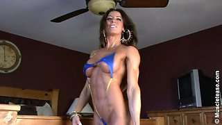 Juliegermaine is the ultimate fitness whore!