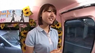 Amazing Japanese girl in Crazy Bus JAV clip