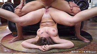kagney linn karter takes an anal piledriver pounding