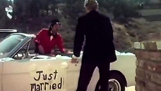 Horny bride lets her husband fuck her ass