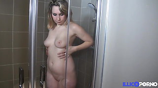 Nikki fucked like a slut by her boyfriend