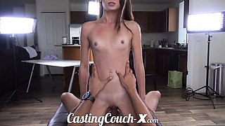 Casting Couch-X Georgia peach excited to do porn for money