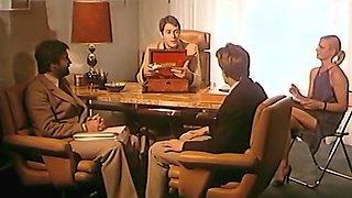 Alpha France - French porn - Full Movie - Secretariat Prive (1981)